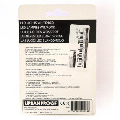 Urban Proof fietslampjes 400228