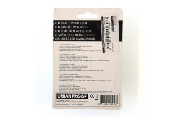URBAN PROOF Siliconen Lampjes - Mint