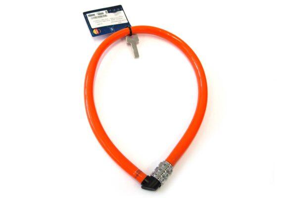 Abus kabelslot 55 cm oranje
