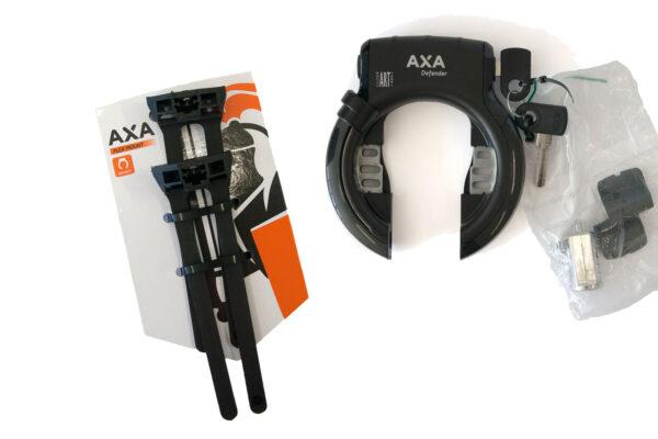 Axa Defender met montageset e-bike