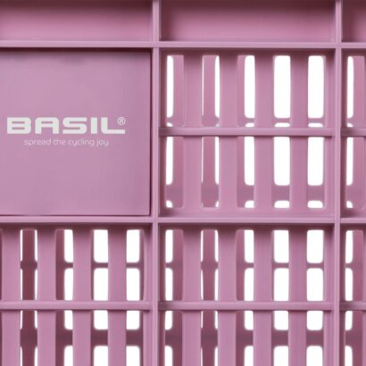 Basil Crate Large fietskrat faded blossom