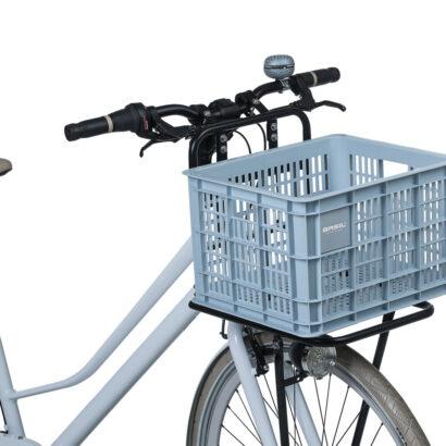 Basil Crate M fietskrat lichtblauw