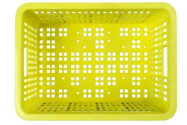 Basil Crate S fietskrat 21061 limoenkleurig
