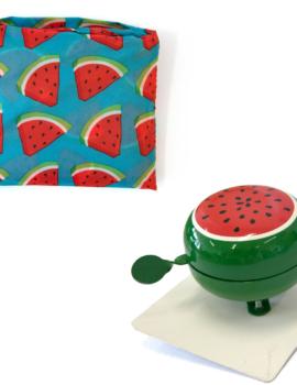 Urban Proof opvouwtasje en bel meloen