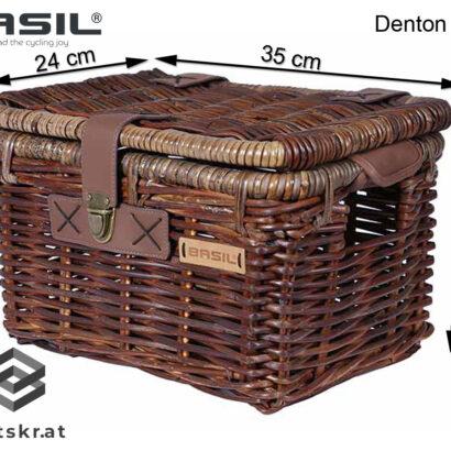 Basil Denton S afmetingen 35 x 24x 22 cm
