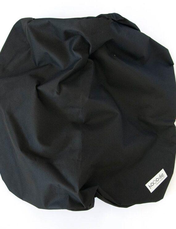 Hooodie krathoes zwart