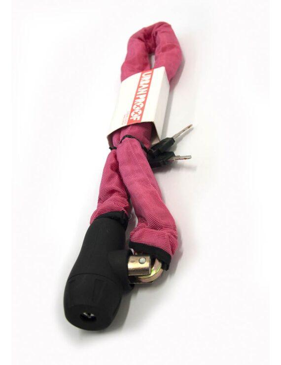 Urban Proof kettingslot roze