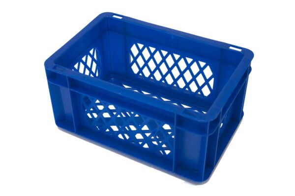 Blauw krat mini