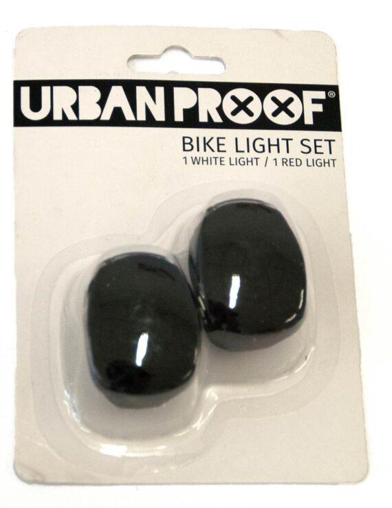 URBAN PROOF Siliconen Lampjes - Zwart