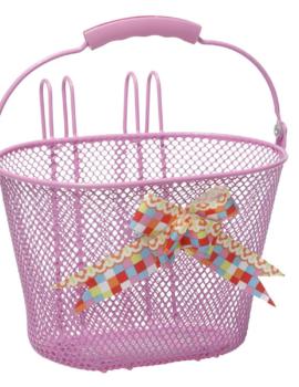 New Looxs Astri Girls Arabella kinderfietsmand 8 liter (roze)