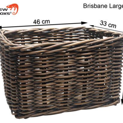 New Looxs Brisbane large bruin 46 x 33 x 26 cm