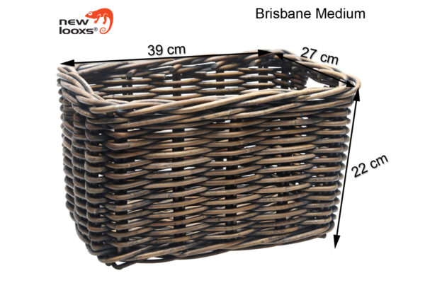 New Looxs Brisbane medium bruin afmetingen