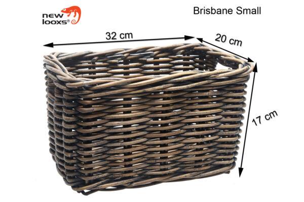 New Looxs Brisbane small bruin afmetingen