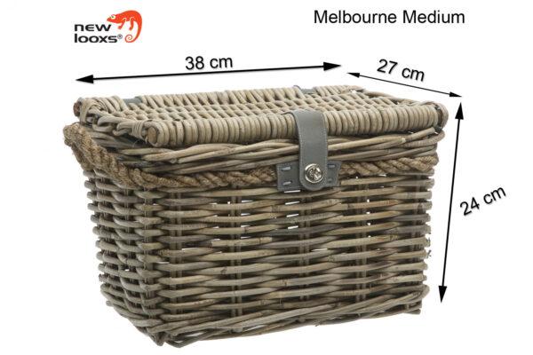 New Looxs Melbourne medium grijs afmetingen