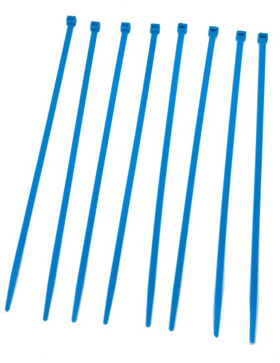 Tiewrap kleur blauw