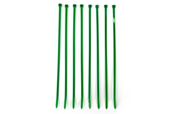 Groene tiewrap