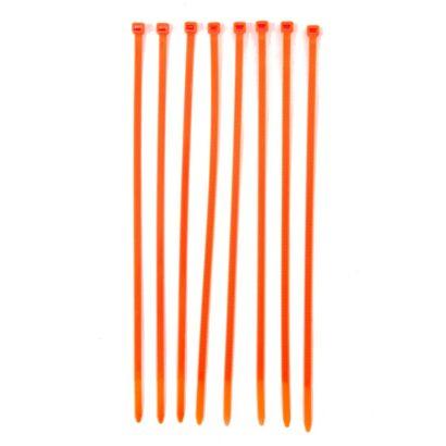 Oranje tiewrap