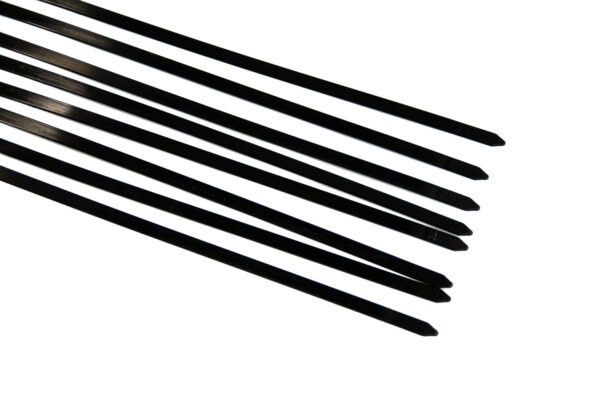 Tiewraps zwart 37 cm 7,6 mm extra breed