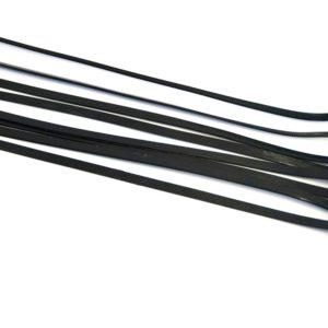 Tiewraps zwart 350 mm 8 stuks