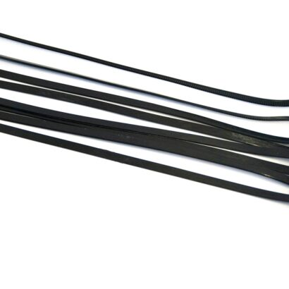 Zwarte tiewraps 35cm