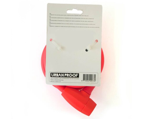 Urban Proof kabelslot fluo