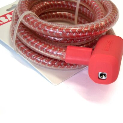 Urban Proof kabelslot roodwit 150 cm detailfoto