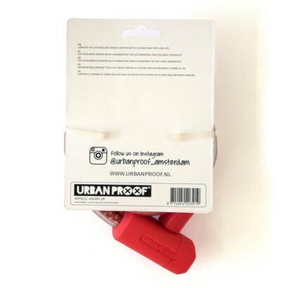 Urban Proof kabelslot roodwit 150 cm