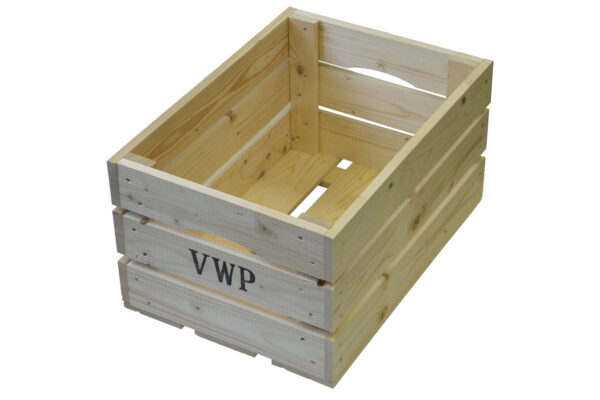 VWP houten fietskrat
